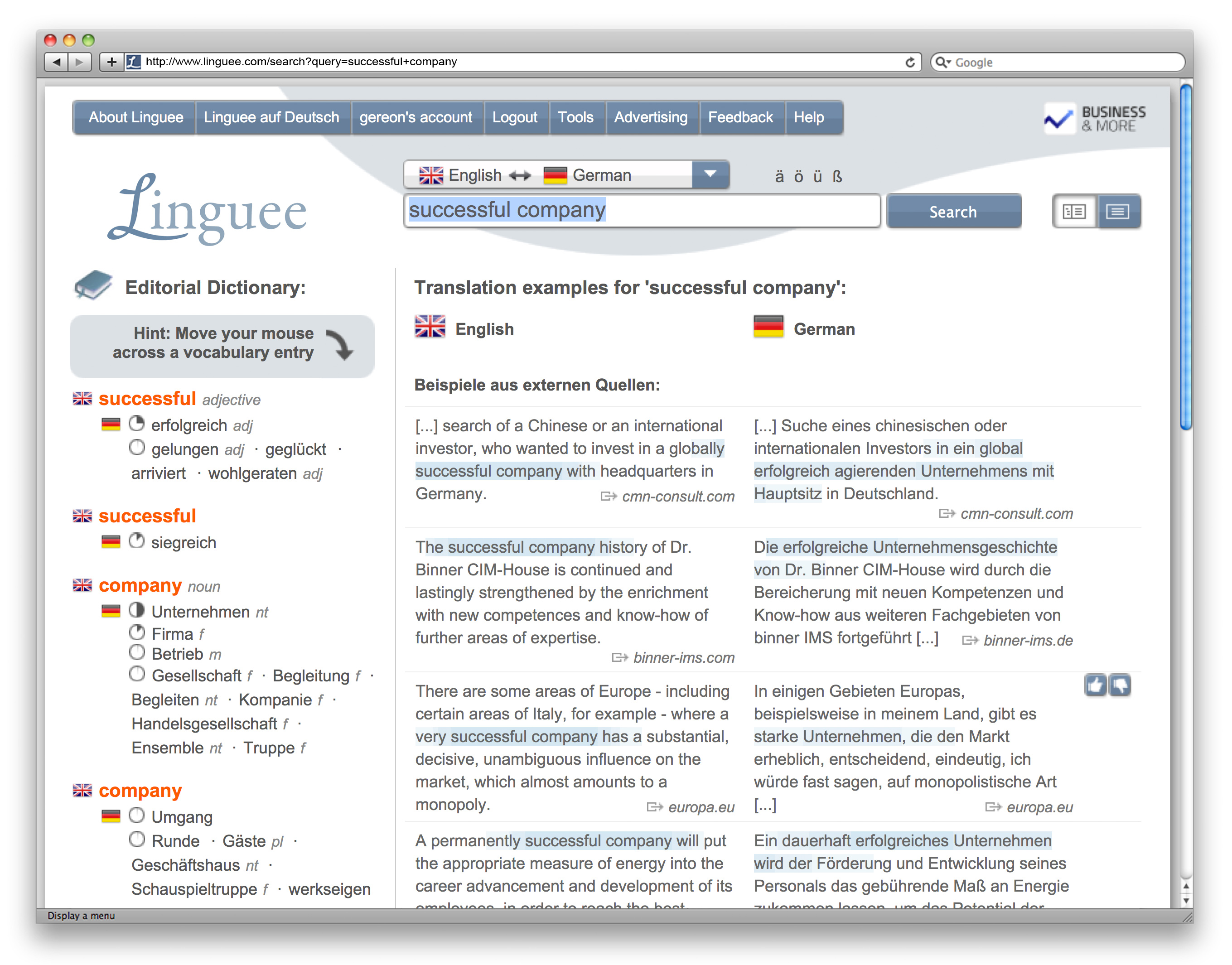 Online dictionary Linguee introduces 218 new language pairs - TQ