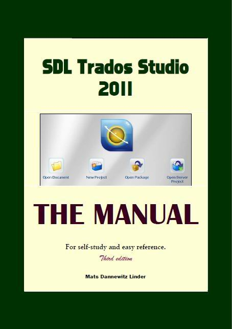 Sdl studio 2011 manual.